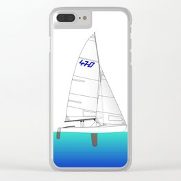 470 Olympic Sailing Clear iPhone Case