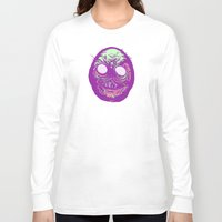 cheese Long Sleeve T-shirts featuring CHEESE by headnhalf