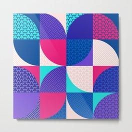 Japanese Patterns 04 Metal Print
