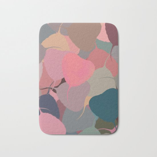 Bodhitree Leave Patten (Autum) Bath Mat