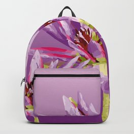 Lotos Flowers violet II Backpack