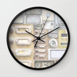Doorbells Wall Clock