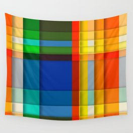 rectangle layers Wall Tapestry