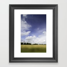 It's all just a crazy blur to me Framed Art Print