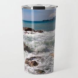 Power of Sea - Sicily Travel Mug