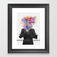 Glitch Mob Framed Art Print
