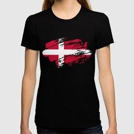 Denmark Flag Tee T-shirt