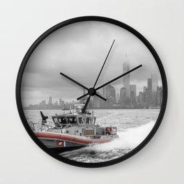 Coast Guard and NYC Wall Clock