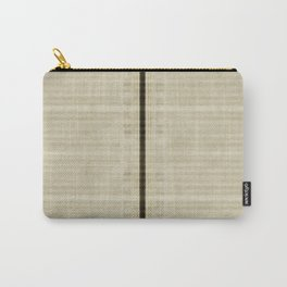 """""""Simple Oriental Curtains (Beige)"""" Carry-All Pouch"""