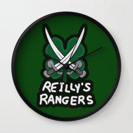 Reilly's Rangers Wall Clock