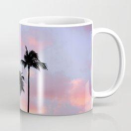 Palm Trees Sunset Photography Coffee Mug