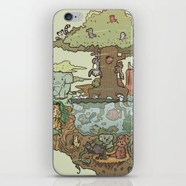 Creatures Of The Forest iPhone Skin
