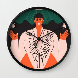 Dictatorship Never More! Wall Clock