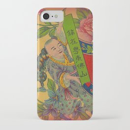 Chinese Firecracker Label iPhone Case