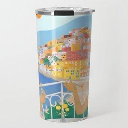 Girls in Positano Travel Mug