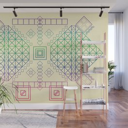 Just Squares Wall Mural