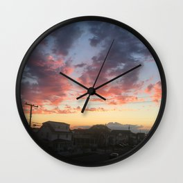 Summer Skies Wall Clock