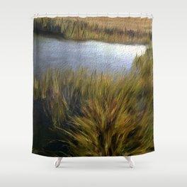 Hidden Lagoon Shower Curtain