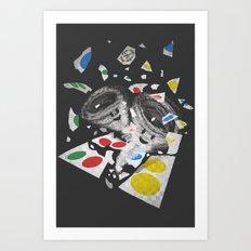 Twistin' Art Print
