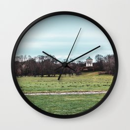 Green Haven Wall Clock