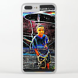 Prince Tyme 06 Clear iPhone Case
