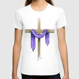 Purple Cross T-shirt