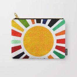 Sun Retro Art Carry-All Pouch