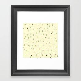 Ladybird invasion Framed Art Print