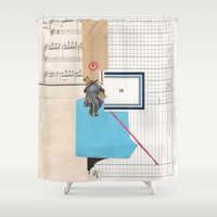 2015 Shower Curtains featuring 2015 by Fitacola