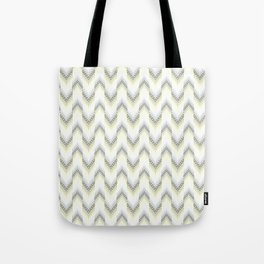 Delicate zigzag pattern. Tote Bag