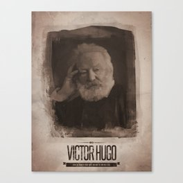 Victor Hugo Canvas Print