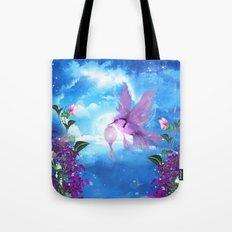 Beautiful fantasy bird Tote Bag