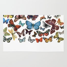 BUTTERFLY CLUSTER Rug
