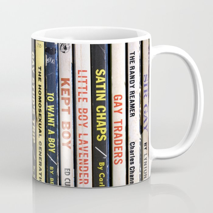 Gay Pulp Sleaze Coffee Mug