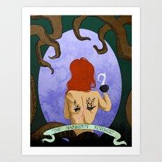 The Mariner's Revenge Art Print