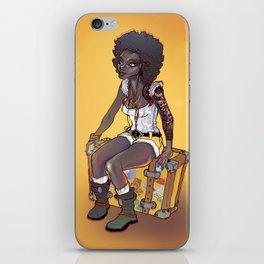 Waiting  iPhone Skin