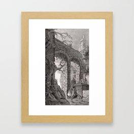 Tower 5 Framed Art Print