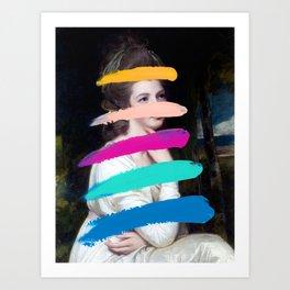 Composition 711 Art Print