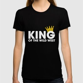 Old West Shirt King Wild West Collection T-shirt