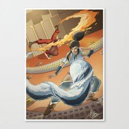 The Avatar series Canvas Print