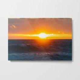 Sunrise of the East Metal Print