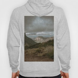 Big Bend Cloudy Mountaintop View - Lost Mine Trail - Landscape Photography Hoody