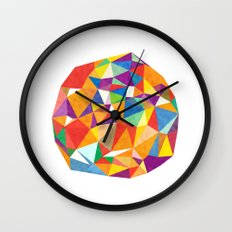 Triangle Balls Wall Clock