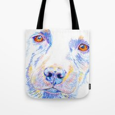 Lotte, the rescue dog Tote Bag