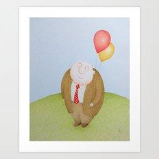 Permanent Childhood  Art Print