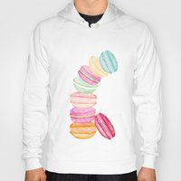 macarons Hoodies featuring MACARONS & STARS  by Monika Strigel®