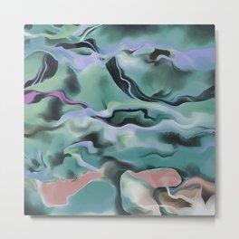 Waves In Harmony Metal Print