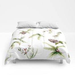 Holiday Plant Extravaganza Comforters