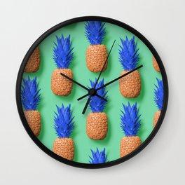 Pinapples Wall Clock