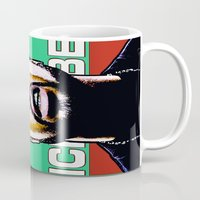 hip hop Mugs featuring HIP-HOP ICONS: O'SHEA by SOL•SKETCHES™